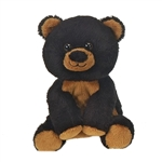 Small Plush Black Bear Lil Buddies by Fiesta