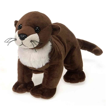 Stuffed River Otter 9 Inch Lil Buddies by Fiesta
