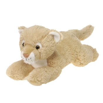 Lying Cougar Stuffed Animal by Fiesta