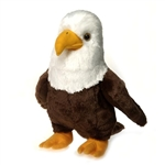 Large Standing Stuffed Bald Eagle by Fiesta