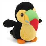 Small Plush Baby Toucan Lil Buddies by Fiesta