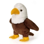 Stuffed Bald Eagle 9 Inch Lil Buddies by Fiesta