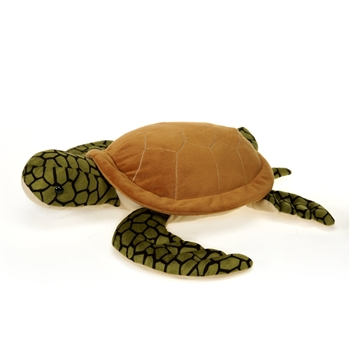 Large Sea Turtle Stuffed Animal by Fiesta