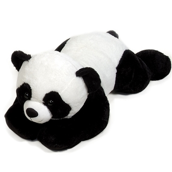 Jumbo Lying Stuffed Panda Plush Animal by Fiesta