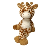 Sam the Fuzzy Folk Giraffe Stuffed Animal by Fiesta