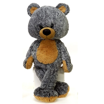 Brice the Fuzzy Folk Black Bear Stuffed Animal by Fiesta