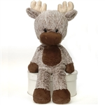 Dakota the Fuzzy Folk Moose Stuffed Animal by Fiesta