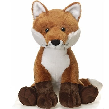Large Sitting Stuffed Red Fox by Fiesta