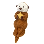 Jumbo Scruffy Sea Otter Stuffed Animal by Fiesta