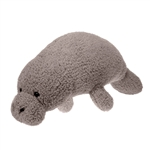 Jumbo Scruffy Manatee Stuffed Animal by Fiesta