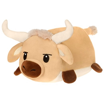 Lil Huggy Longhorn Bull Stuffed Animal by Fiesta