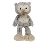 Tippy the Fuzzy Folk Owl Stuffed Animal by Fiesta