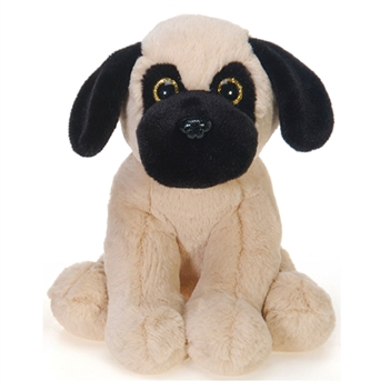 Sitting Pug Plush Animal by Fiesta