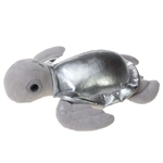Silver Turtle Stuffed Animal by Fiesta