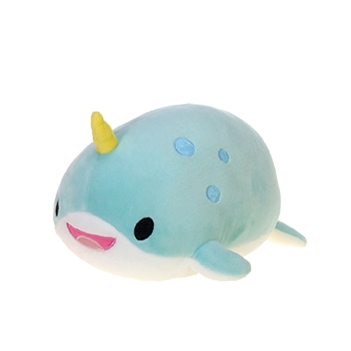 Lil Huggy Narwhal Stuffed Animal by Fiesta