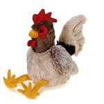Small Rooster Stuffed Animal by Fiesta
