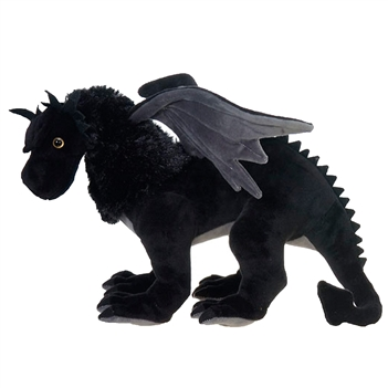 Black Dragon Stuffed Animal by Fiesta