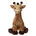 Jumbo Sitting Giraffe Plush Animal by Fiesta
