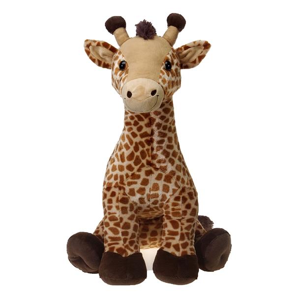 Jumbo Sitting Giraffe Plush Animal Fiesta Stuffed Safari