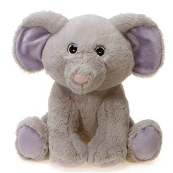 Sitting Elephant Plush Animal by Fiesta