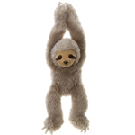 Hanging Stuffed Sloth 20 Inch Plush Animal by Fiesta