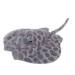 Gray Spotted Stingray Plush Animal by Fiesta