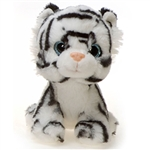 Windy the Jungle Babies White Tiger Stuffed Animal by Fiesta