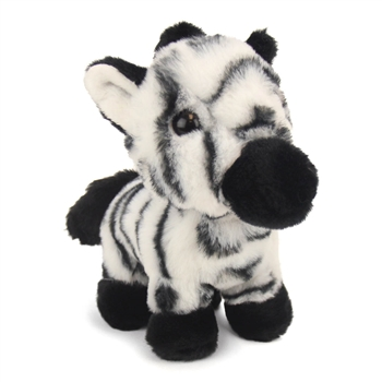 Zelda the Jungle Babies Zebra Stuffed Animal by Fiesta