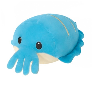 Lil Huggy Blue Cuttlefish Stuffed Animal by Fiesta