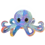 Scribbleez Colorful Octopus Stuffed Animal