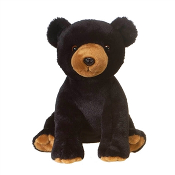 Bean Bag Black Bear Stuffed Animal by Fiesta