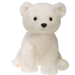 Bean Bag Polar Bear Stuffed Animal by Fiesta