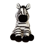 Bean Bag Zebra Stuffed Animal by Fiesta
