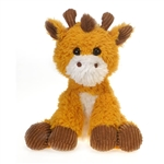 Geraldine the Scruffy Giraffe Stuffed Animal by Fiesta
