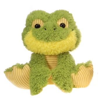 Finnick the Scruffy Frog Stuffed Animal by Fiesta