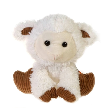 London the Scruffy Lamb Stuffed Animal by Fiesta