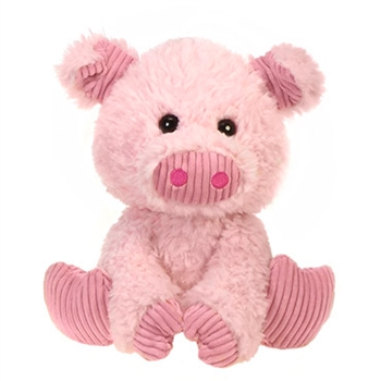 Prudence the Scruffy Pig Stuffed Animal by Fiesta