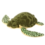 Realistic Sea Turtle Stuffed Animal by Fiesta
