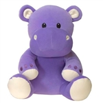 Hannibal the Smooth Stuffed Hippo by Fiesta