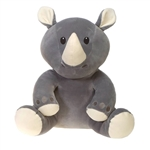 Rodolfo the Smooth Stuffed Rhino by Fiesta