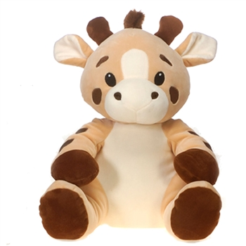 Godfrey the Smooth Stuffed Giraffe by Fiesta