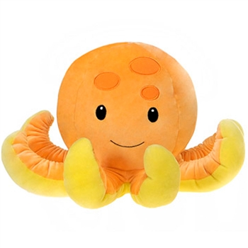 Ophelia the Smooth Stuffed Octopus by Fiesta
