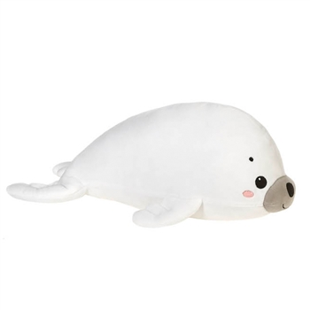 Simon the Smooth Stuffed Harp Seal by Fiesta