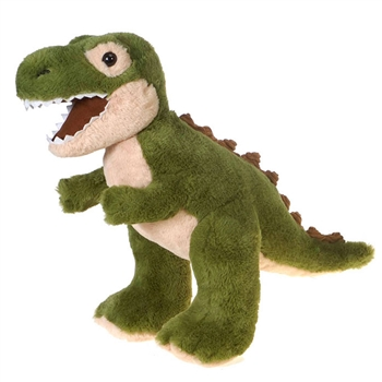 Plush Green Stuffed T-Rex by Fiesta