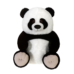 Large Sitting Stuffed Panda by Fiesta