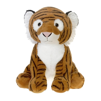 Large Sitting Stuffed Tiger by Fiesta