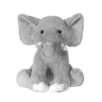 Large Sitting Stuffed Elephant by Fiesta