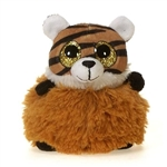 Tommy the Pom Pals Tiger Stuffed Animal by Fiesta