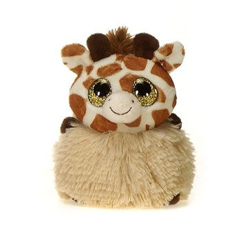 Gina the Pom Pals Giraffe Stuffed Animal by Fiesta
