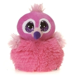 Charlie the Pom Pals Flamingo Stuffed Animal by Fiesta